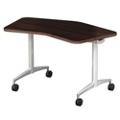 "Mobile Flip Top Nesting Transition Table - 48""W x 30""D, 41716"
