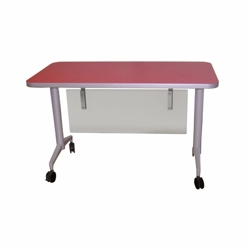 "Mobile Flip Top Nesting Table - 72""W x 30""D, 41777"