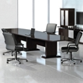 Curved Boat-Shaped Conference Table - 16', 45040