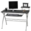"Glass Inset Computer Desk - 47.25""W x 27""D, 60084"