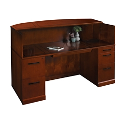 "Sorrento Reception Desk - 72""W, 75782"