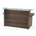 "Reception Desk with Glass Counter - 72""W, 76408"
