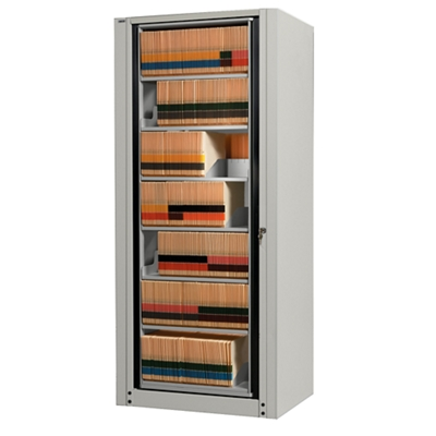 Eight Shelf Legal Size Rotary File   Add On Unit, 30338