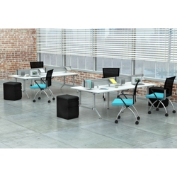 Dual-Sided Eight Person Workstation, 14428