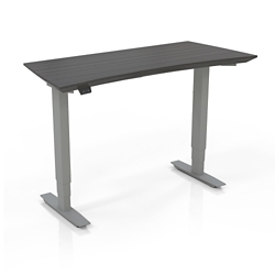 "Height Adjustable Compact Tall Table Desk - 48""W, 14447"