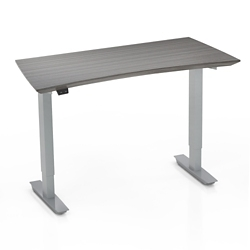 "Height Adjustable Compact Table Desk - 28"" to 47.6""H, 14446"