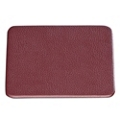 "Set of 4 Faux Leather Coasters - 4.5""W x 4.5""H, 87769"