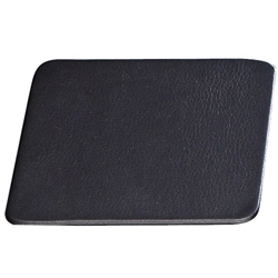 """Set of 4 Leather Coasters - 4.5""""W x 4.5""""H, 87772"""