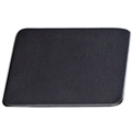 "Set of 4 Leather Coasters - 4.5""W x 4.5""H, 87772"