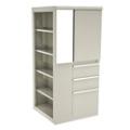 """Left Bookcase Storage Tower - 52"""" H, 36419"""