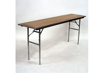 "Plywood Folding Table - 18""Dx72""W, 46755"