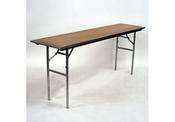 "Plywood Folding Table - 18""Dx96""W, 46756"