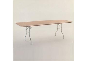 "Plywood Folding Table - 24""Dx72""W, 46757"