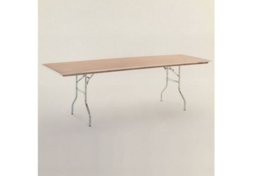 "Plywood Folding Table - 24""Dx96""W, 46758"
