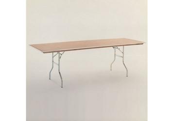 "Plywood Folding Table - 30""Dx72""W, 46759"