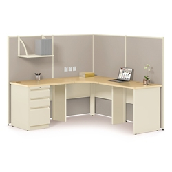 "Corner Cubicle Workstation - 72""W x 72""D, 20914"