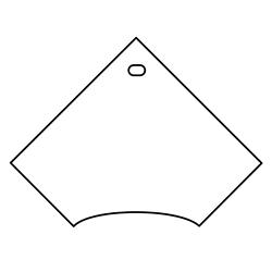"Corner Worksurface - 48""W x 30""D, 21801"