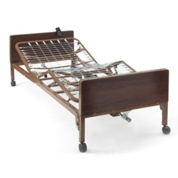 Adjustable Height Full Electric Economy Bed Frame, 25866