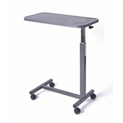 Economy Adjustable Height Overbed Table with Composite Top, 26035