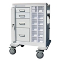 "Phlebotomy Cart with Four Drawers and Gatelock - 37.25""H, 36983"