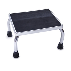 "Chrome Footstool - 16""W, 56794"