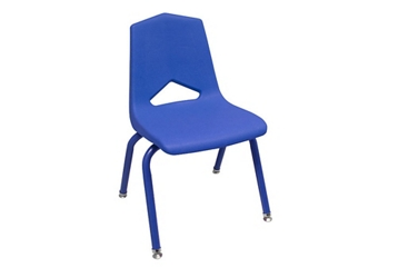 "V Back Student Chair with 10""H Color Frame, 51638"