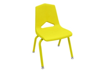 "V Back Student Chair with 16""H Color Frame, 51641"