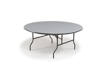 "Hexalite Folding Round Table 72"", 46740"