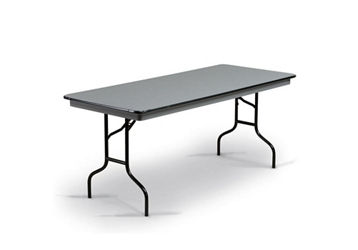 "Hexalite Folding Seminar Table 30""W x 72""D, 46741"