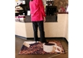 "Coffee Design Carpeted Floor Mat - 36"" x 60"", 54294"