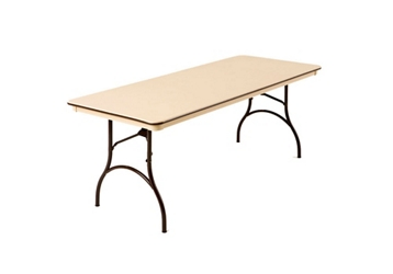 "Plastic Folding Table 30"" Wide x 96"" Long, 46662"