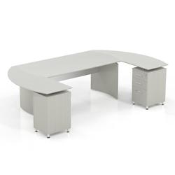 "Curved U-Desk - 112""W, 14463"
