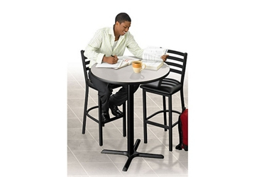 Bar Height Table & Two Stools, 46657