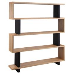 """Four Shelf Bookcase - 59""""W x 66""""H, 32834"""