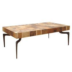 "Wood Coffee Table - 54""W, 46223"