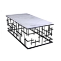 """Marble Top Coffee Table - 24""""W , 46230"""
