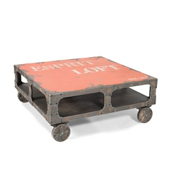 "Industrial Coffee Table - 39""W, 46235"