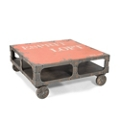 """Industrial Coffee Table - 39""""W, 46235"""