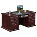"Executive Double Pedestal Desk - 68""W, 10147"