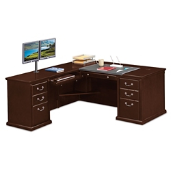 "L-Desk with Left Return - 68""W, 10148"