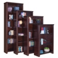"Cherry 84"" Open Bookcase, 32929"