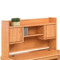 "Medium Oak Two Door Hutch - 67""W, 10915"