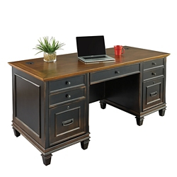 "Double Pedestal Desk - 69.5""W, 14060"