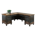 "Double Pedestal L-Desk - 69.5""W, 14064"