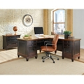 Hartford L-Desk with Right Return and Lateral File Set, 14239