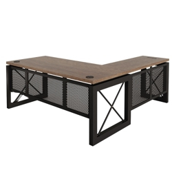 "Urban Reversible L-Desk - 72""W x 80""D, 14392"