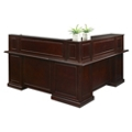 "Cumberland L-Shape Reception Desk with Right Return - 72""W, 16004"