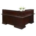 "Cumberland L-Shape Reception Desk with Right Return - 72""W, 16004"