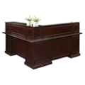 "Cumberland L-Shape Reception Desk with Left Return - 72""W, 16005"