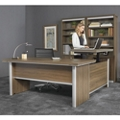 "Metropolitan Adjustable Height L-Desk with Left Return - 72""W, 16383"